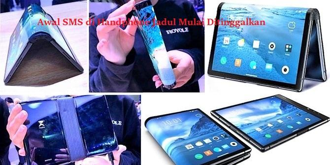 Awal SMS di Handphone Jadul Mulai Ditinggalkan